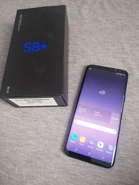 Samsung galaxy S8+ 4/64gb lengkap original