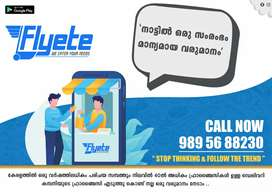 Flyete the online delivery app