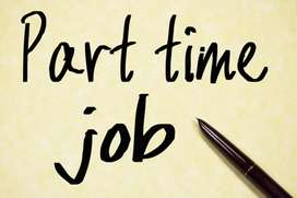 Part time job, home based work for boys and girls.