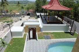 Villa, Resort Jogja dengan Infinity Pool Lingkungan Ekspatriat