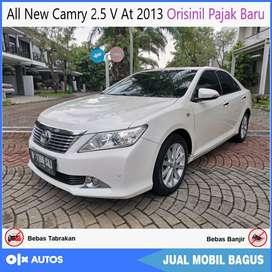 All New Camry 2.5 V AT 2013 Orisinil Pajak Baru Bisa Kredit