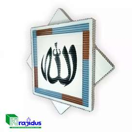 Hiasan Dinding Kaligrafi Lafadz Allah Unik