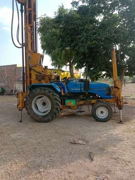 Tubewell Digging tractor