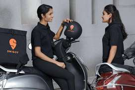 Swiggy  process hiring for Delivery boys and  Field Executives in NCR.