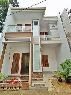 Rumah mewah harga murah dalam cluster di komplek DPR jagakarsa
