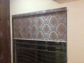 printed roller blinds(embossed high quality window blinds)