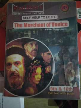 Self study guide merchant of Venice class 9th and 10th ICSE