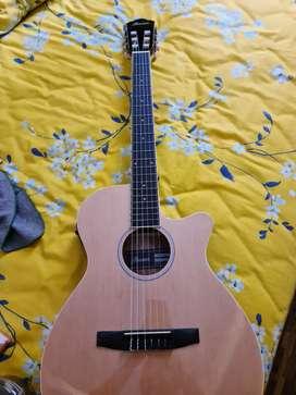 Gitar Akustik Elektrik Ibanez AEG7TN-NT