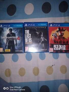 PS4 game discs Original!!