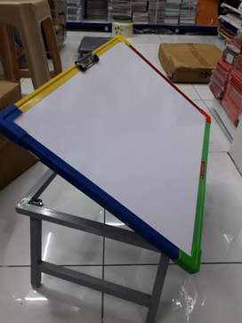 WHITE BOARD STUDY TABLE.