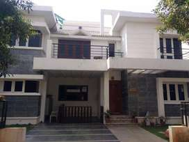 East facing 4 BHK Villa with furnished for rent in Tellapur Hyderabad