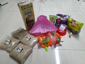 Murah Makanan vitamin Peralatan Kelinci Hamster anjing kucing Like new