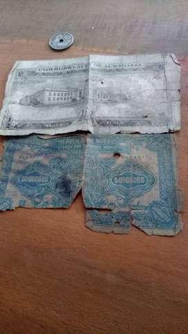 Ditawarkan uang kuno tahun  1913