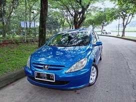 Peugeot 307 sporty biru original bisa tukar tambah