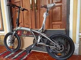 Sepeda lipat BNB nich pro 9.2 warna favorit