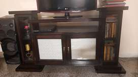 Designer Cabinet , Could be used as TV Stand also, Dark Touchwood