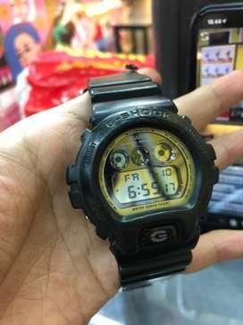 Jam tangan G-shock original black gold