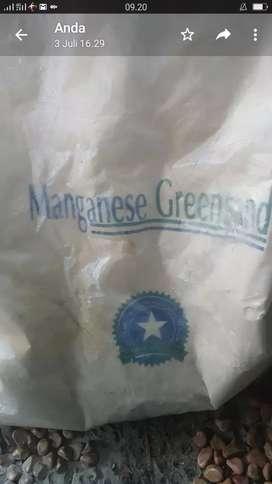 Manganise greensand - filter air sumur