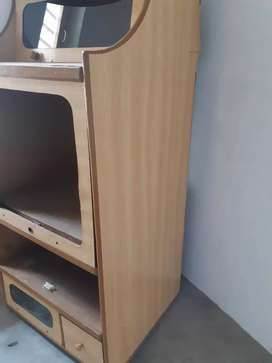 TV trolly with tv lg company