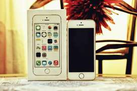Apple Iphone 5s Gold Complete Box