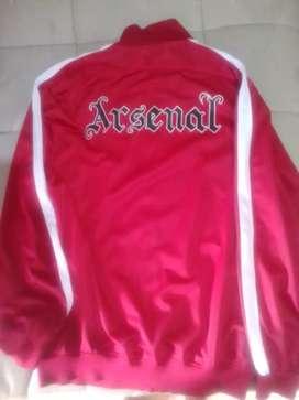 Jaket Bola Klub Arsenal Ukuran XL