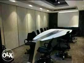 Beautifully furnished 45 seats 4 cabin conference etc in sec 63 noida
