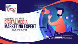 Become a Certified Digital Media Marketing Expert (Live Online)