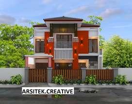 Jasa Desain Rumah Online | Jasa Arsitek Online (Paket Lengkap)