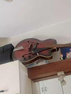 Hobner guitar, semi electric