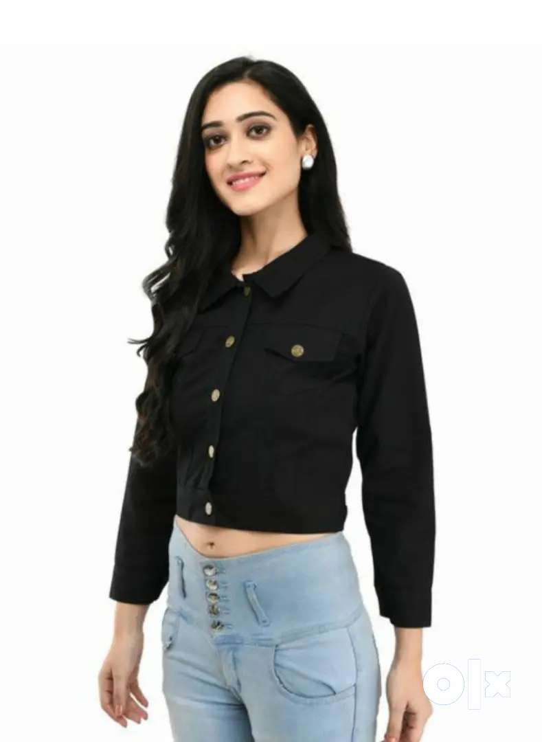 (home delivery+COD)Trendy classy plan ful sleeve cotton jacket