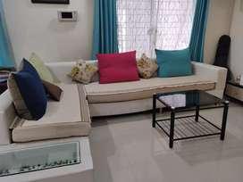 L shape 6 seater sofa