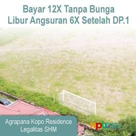 Tanah Perumahan Dekat Tol Kopo Standar Perumahan: Angsur 12X
