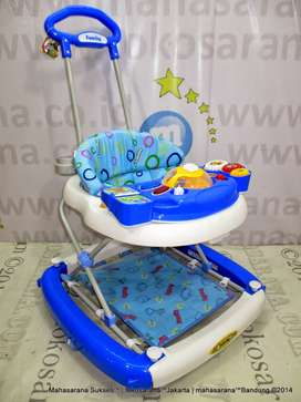 Bandung Go-Send Family FB2115LD Rolex 2 in One Baby Walker n Rocker