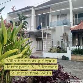 Homestay villa depan Jatimpark 3