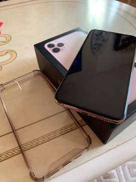 Apple iPhone 11 Pro Max, 256GB (Gold) Non Pta New Seal Packed...