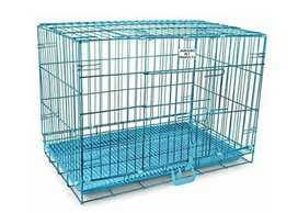 Two Steel Cages for PETs transportation