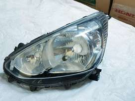 Headlamp lampu depan mobil mirage kiri