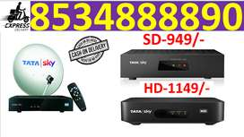 70% discount d2h tata sky & airtel tv & full install cash on delivery