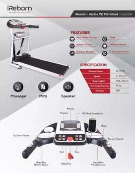 treadmill elektrik i reborn venice M-242 electric treadmil alat fitnes
