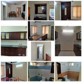 2 bhk semi furnished flat is available for rent