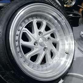 Velg racing Brio ring 15 bisa kreeit dan tukar tambah