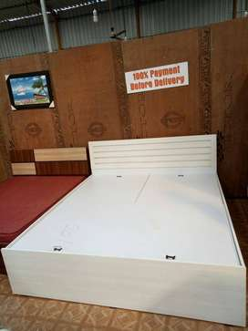 New brand Bed with storage .