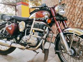 Limited Edition Royal Enfield Chrome 500Cc excellent condition rarely