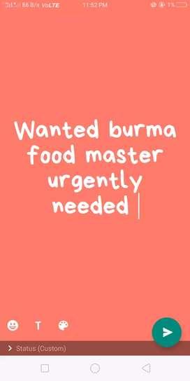 Burma food master