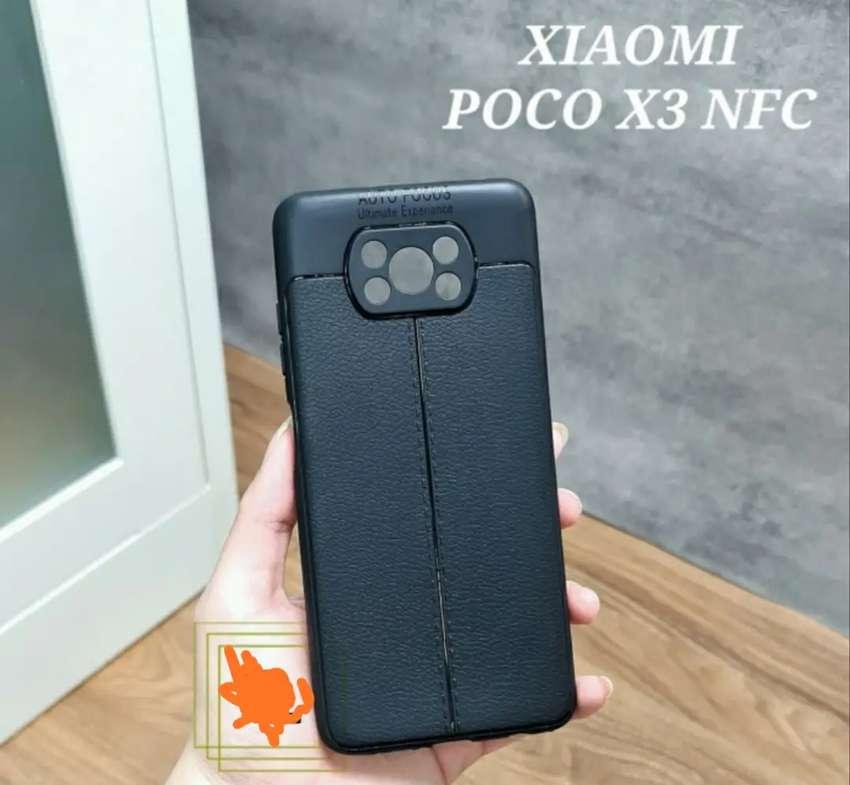 Case Autofocus POCO X3 NFC dgn Pelindung Kamera, Premium, Slim,Fit