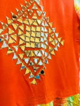 Orange Kurti (long)