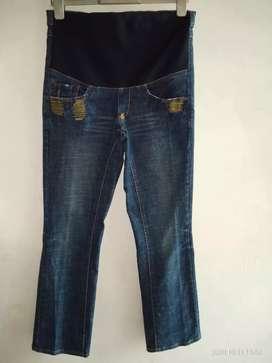 celana jeans untuk ibu hamil