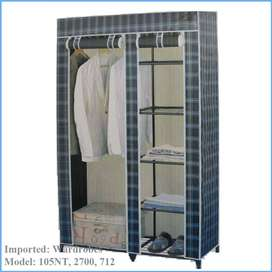 wardrobe, Portable Wardrobe, 2 Door wardrobe, Crafted by highly specia