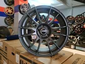 Jual velg replika racing ring 18 pcd 5x114.3 crv turbo civic turbo