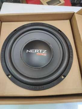 New HERTZ Car Sub woofer 600 watts 8 inch new edition.1 yr warranty